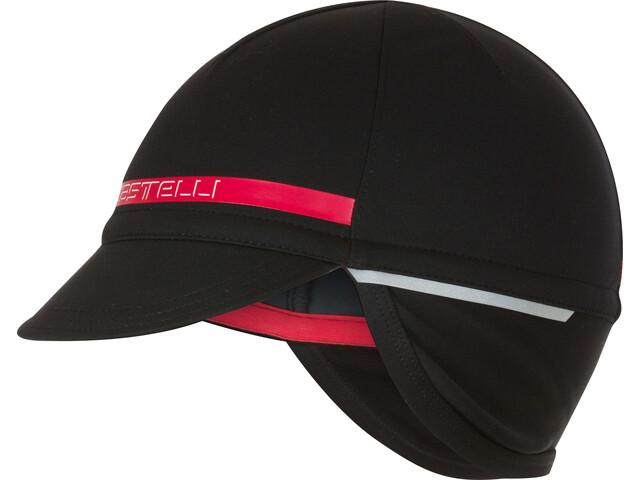 Castelli Difesa 2 Hoofdbedekking Heren rood/zwart